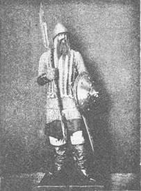 Русский пеший ратник 17 век