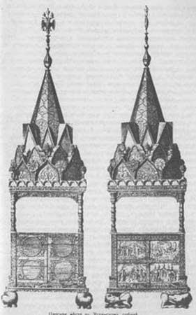 Царское место в Успенском соборе